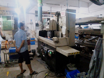 one of grinding machine