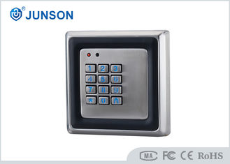 China Metal Case Standalone RFID Keypad Single Door Access Control With Card Reader supplier
