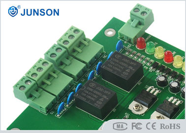 China Double Door TCP/IP 32 bit  Network Access Control Board for 4 Readers supplier