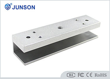 China Access Control U Shaped Door Lock Bracket Aluminum Sandblast Finished supplier