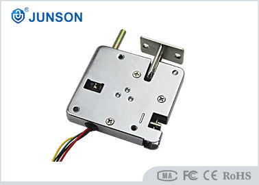 China Automatic open door Electric Cabinet Lock / Solenoid lock With door sensor NO/COM supplier