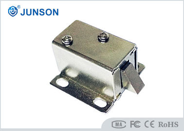 China Smallest solenoid lock magnetic cabinet locks for any kind of locker , lower power supplier