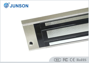 China Door Electromagnetic Lock with Anodized aluminum Surface finishing , 12V / 24V Power supplier