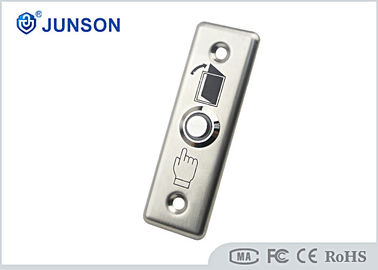 Stainless Steel Exit Push Button Mechanical Access Control Door Release