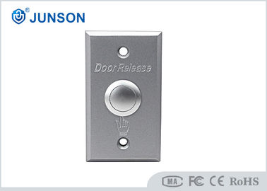 China Keyless Door Mag Lock Release Button Weatherproof With Aluminum Panel supplier