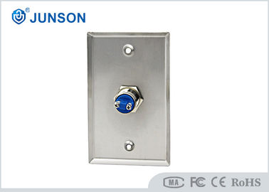 Electric Access Control Door Release Push Button Stainless Steel