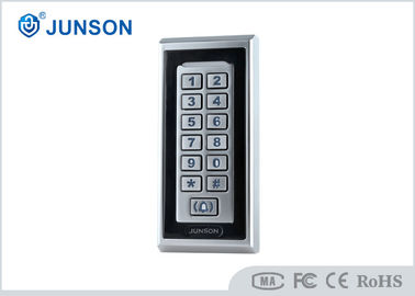 China Waterproof & Back-Lit Metal Key Buttons Standalone RFID Access Controller JS-K353E supplier