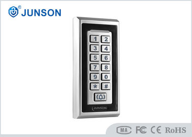 China Standalone Keypad RFID Access Control System IP67 Waterproof  Zinc Alloy Material supplier