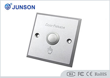 2mm Thickness Open Panic Exit Push Button of  Pure Copper CE Proved