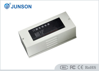 China 220VAC 50Hz Magnetic Door Lock Power Supply With Timer Delay , Silver Color supplier