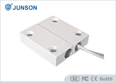 China 500mA Magnetic Read Switch , Magnetic Door Alarm Sensors Plating Finishing supplier