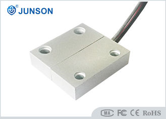 China 0.5A Current Access Control Kits No / NC Type Security Door Contacts Zinc Alloy Housing supplier