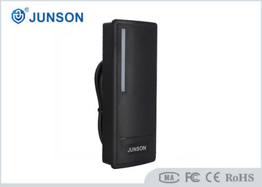 China Black Color Access Control Part , Security Rfid Access Control Card Reader supplier