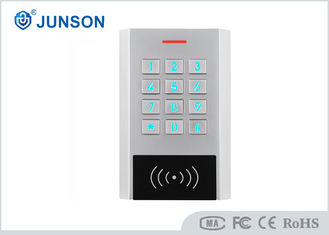 China Stand Alone Waterproof Keypad Access Control System JS-K377-E 3-8cm Frequency Distance supplier