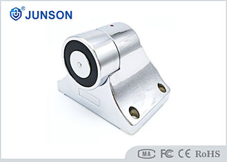 China JS-H37A-S Electromagnetic Door Holder Shine Silver Plating With Alarm Action supplier