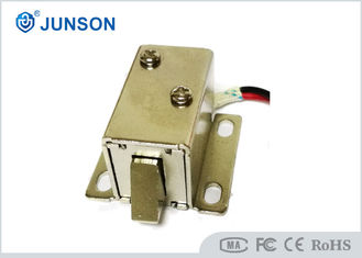 China 12V DC Electric Cabinet Lock Silver Color For Electronic Solenoid Lock Door supplier