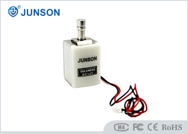 China Round Head Solenoid Electric Cabinet Lock 12V /24V Optionwith White Connector supplier