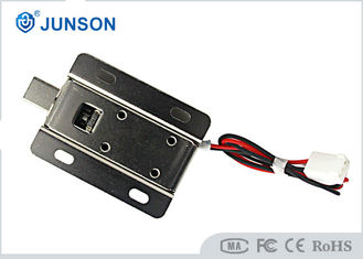 China Keypad Electric Cabinet Lock Fail Secure Working With 30mm Long Cable Connector supplier