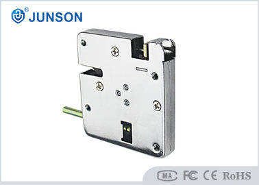 China Auto Flick Door Electric Combination Cabinet Lock High Stability Solenoid With Mico Switch supplier