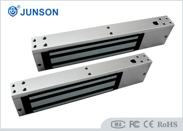 China Single Door Electromagnetic Lock 800lbs JS-350S Anodized Aluminum Surface With Lock Sensor supplier