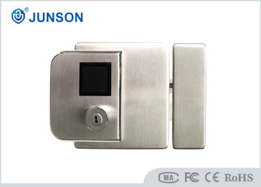 Biometric Fingerprint Door Locks 304 Stainless Steel IP65 For Outside Gate