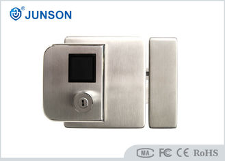 China Biometric Fingerprint Door Locks 304 Stainless Steel IP65 For Outside Gate supplier