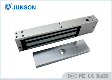 China Single Door Electromagnetic Lock 12/24V DC JS-350S Fail Safe With Lock Sensor supplier