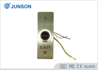 Infrared Sensor Stainless Steel DC 12V No Touch Exit Button