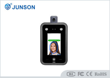 China Face Recognition with Temperature measure machine Thermometer Access Control supplier