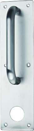 Stainless Steel Internal Door Lever Handle on Plate with Machine Key