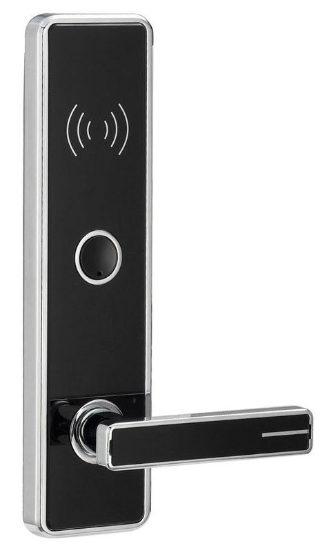 Zinc Alloy Electronic RFID Hotel Locks Access Control With