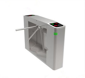 China RFID Card Reader Bi-Directional Semi - Automatic Tripod Turnstile &3 Qrm Gate distributor