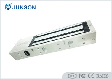 China Holding Force 1200lb Electromagnetic Lock , single double door magnetic lock with LED-JS-500S factory