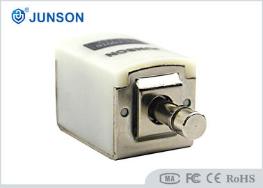 China Round head Electric Cabinet Lock with white connector , 12V or 24V option distributor