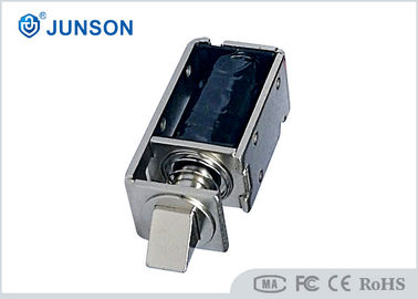 Customized 24V no casing digital Electric Cabinet Lock / solenoid lock with 70mm wire connector