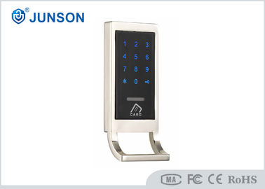 China Touched screen Keypad Electric Cabinet Lock for Sauna Cabinet Zinc Alloy housing factory