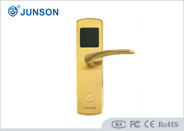 China Secure Hotel Key Card Door Locks / Hotel Room Security Door Locks factory