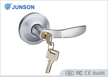 Machine Key External Door Handle Entry 72mm For Panic Bar Device