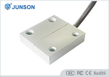 China 0.5A Current Access Control Kits No / NC Type Security Door Contacts Zinc Alloy Housing distributor
