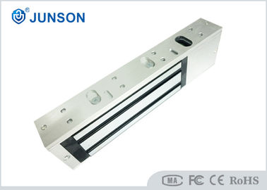 China LED JS-500S Single Door Magnetic Lock Fine Cooper Coils Zinc Finishes For Armature factory