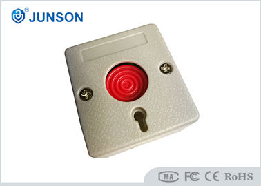China Smallest Panic Exit Push Button ABS Materials Sandblast Finishing With Key Reset factory