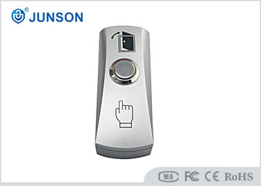 China Alloy Plate Standard Structure Steel Access Control Exit Button JS-93D Easy To Install distributor