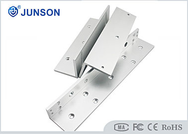 China Inward Door Maglock L Brackets , 600lbs Electromagnetic Lock Bracket JS-28L distributor