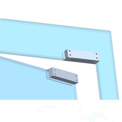 Glass Door Electric Drop Bolt Lock Fail Safe / Stainless Steel Door Bolt Lock