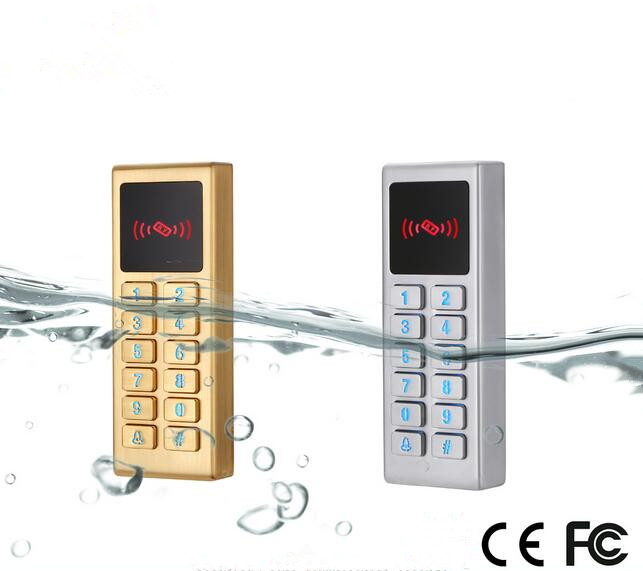 Waterproof Rfid Proximity Access Control System With Metal