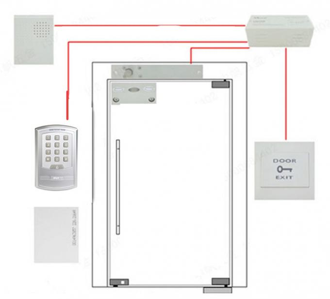 Wiegand RFID Access Control System Stand Alone with Magnetic Lock