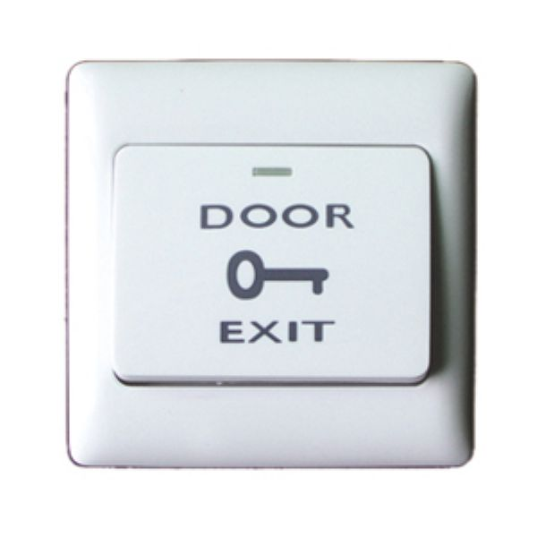 Plastic Electric Door Exit Button Room Access Control Emergency Push