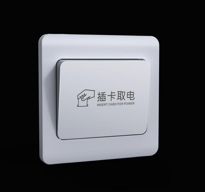 Electronic Key Card RFID Hotel Locks Stainless Steel With Waterproof