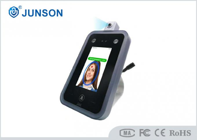 Face Recognition with Temperature measure machine Thermometer Access Control